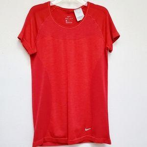 Nike Top DRI FIT Short Sleeve Activewear